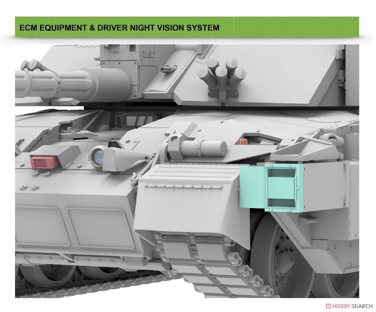 1/35『チャレンジャー2 TES「メガトロン」イギリス軍主力戦車』プラモデル-007