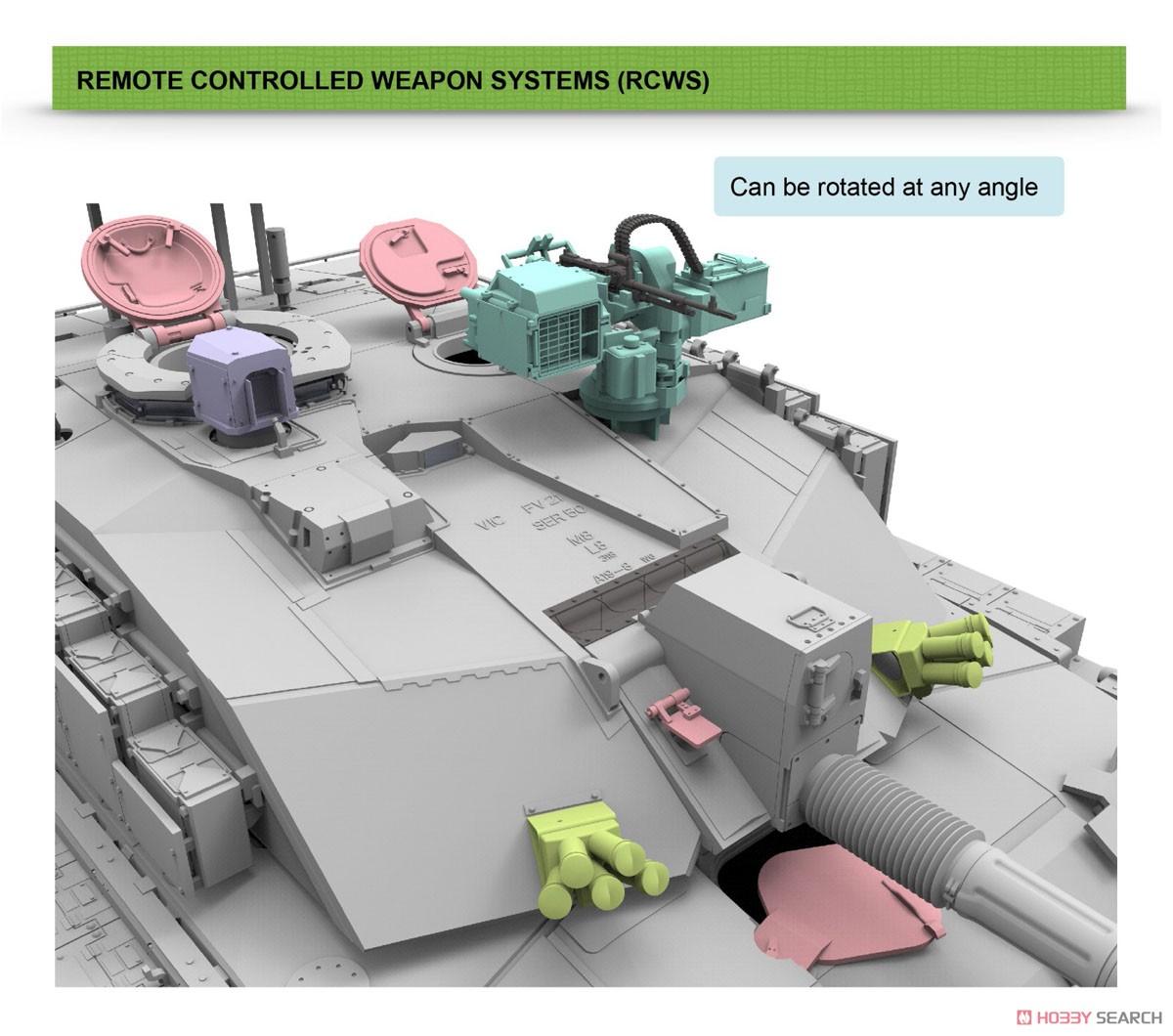 1/35『チャレンジャー2 TES「メガトロン」イギリス軍主力戦車』プラモデル-008