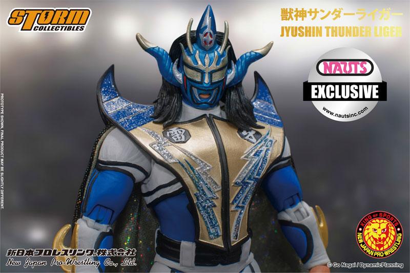 新日本プロレス『獣神サンダー・ライガー ノーツ エクスクルーシブ Ver.』 アクションフィギュア-002