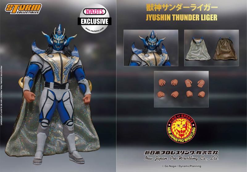 新日本プロレス『獣神サンダー・ライガー ノーツ エクスクルーシブ Ver.』 アクションフィギュア-004