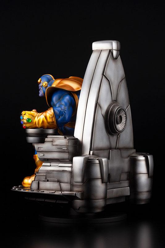 ファインアートスタチュー『サノス オン スペーススローン』MARVEL UNIVERSE 1/6 完成品フィギュア-005
