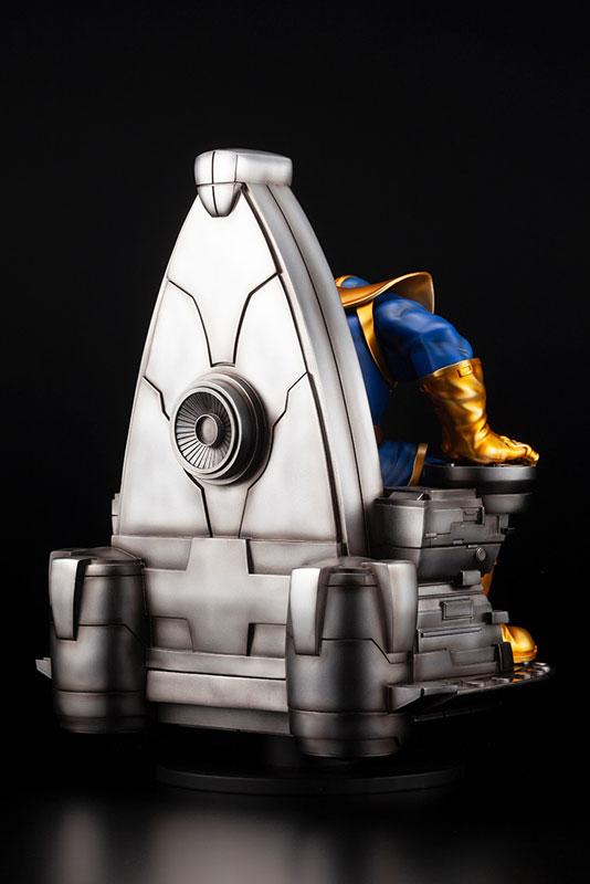 ファインアートスタチュー『サノス オン スペーススローン』MARVEL UNIVERSE 1/6 完成品フィギュア-007