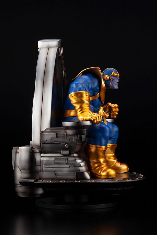 ファインアートスタチュー『サノス オン スペーススローン』MARVEL UNIVERSE 1/6 完成品フィギュア-008