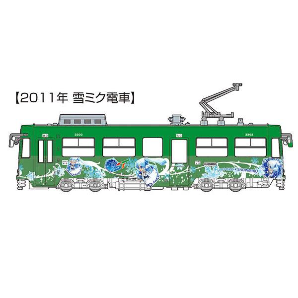 1/150『雪ミク電車2020バージョン(2011年雪ミク電車付き)スペシャルセット』プラモデル