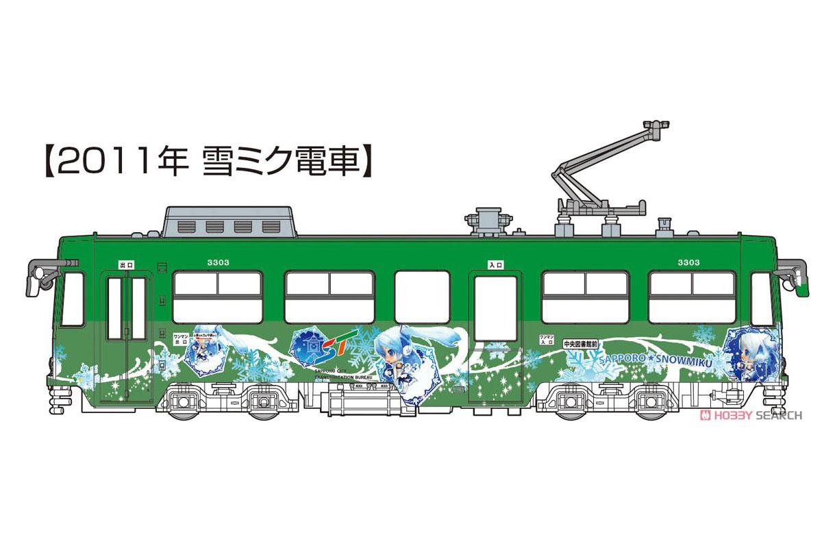 1/150『雪ミク電車2020バージョン(2011年雪ミク電車付き)スペシャルセット』プラモデル-001