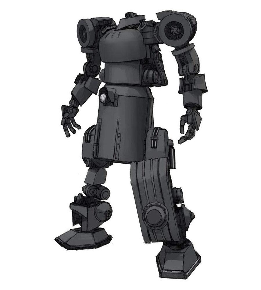1/35『IV号人型重機(連合国仕様)ストレートブラックVer.』プラモデル-001