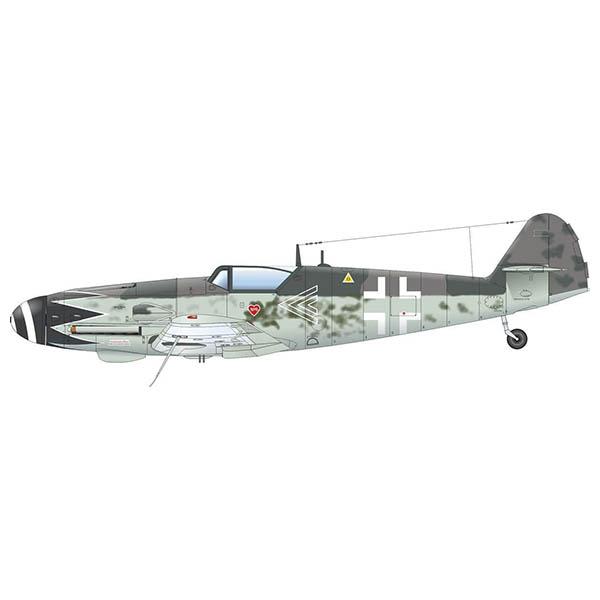 1/48 プロフィパック『Bf109G-10 エルラ 』プラモデル