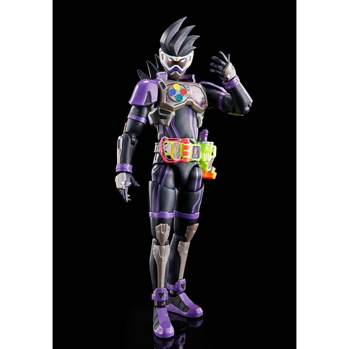 【限定販売】Figure-rise Standard『仮面ライダーゲンム アクションゲーマー レベル2』プラモデル-005