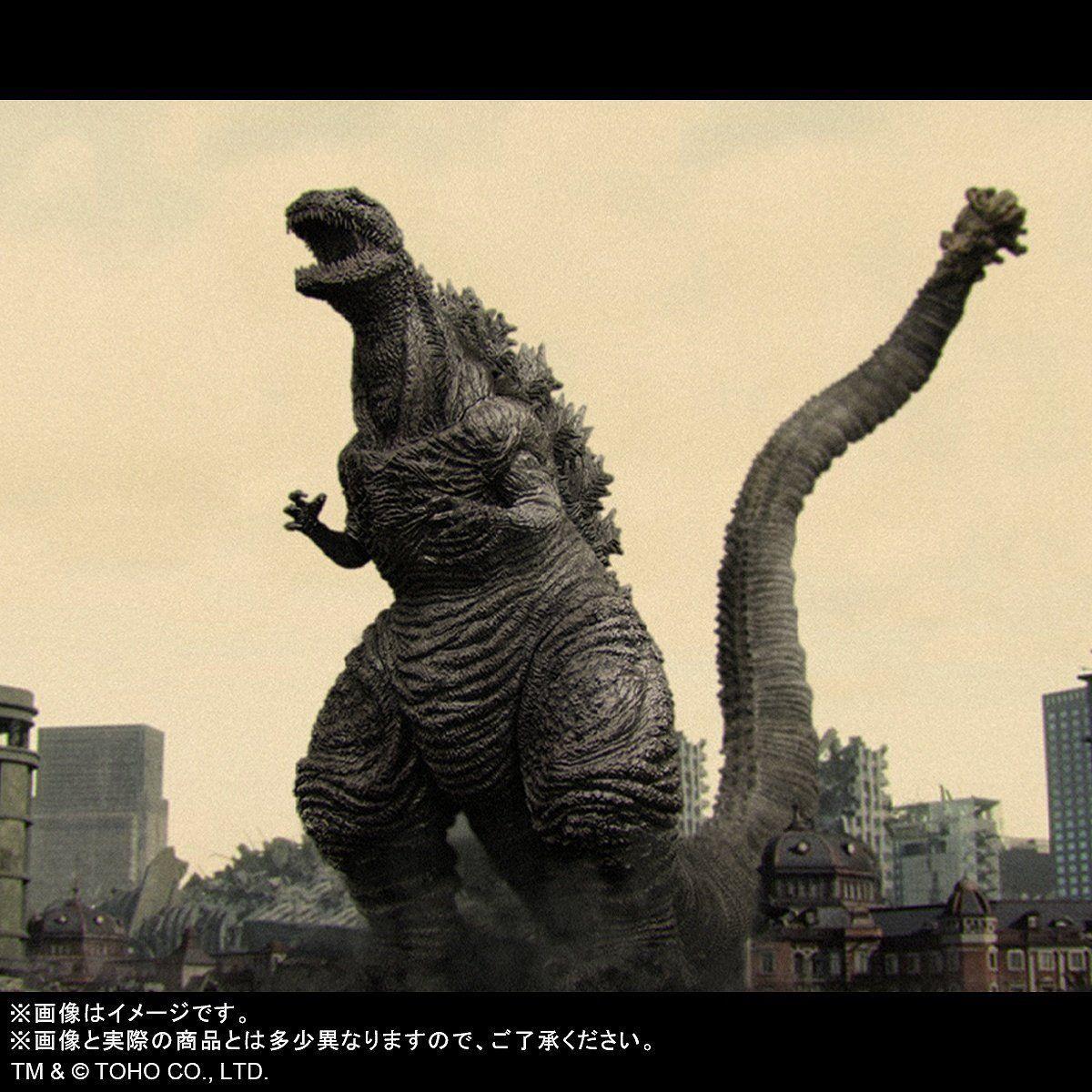東宝大怪獣シリーズ『ゴジラ(2016)凍結Ver.』シン・ゴジラ 完成品フィギュア-002