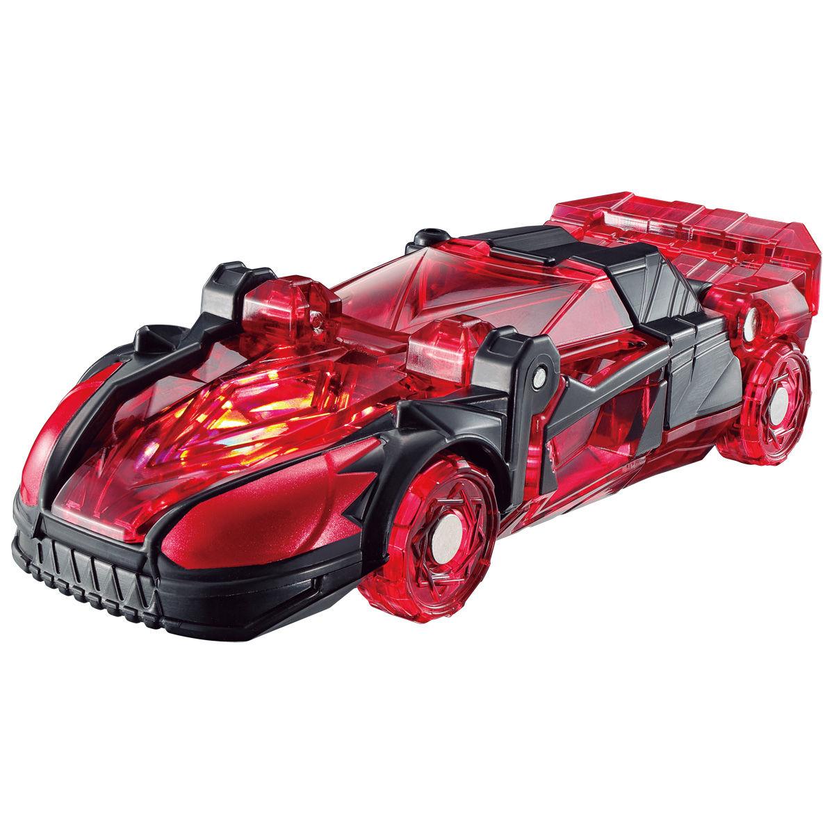 【限定販売】キラメイジャー ロボシリーズ01『魔進合体 赤いスポーツカー魔進』可変可動フィギュア-002