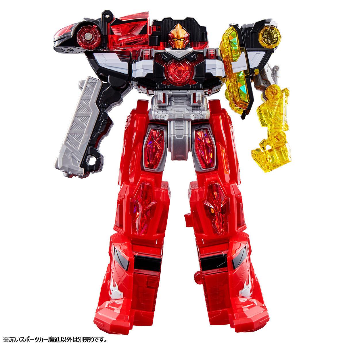 【限定販売】キラメイジャー ロボシリーズ01『魔進合体 赤いスポーツカー魔進』可変可動フィギュア-004