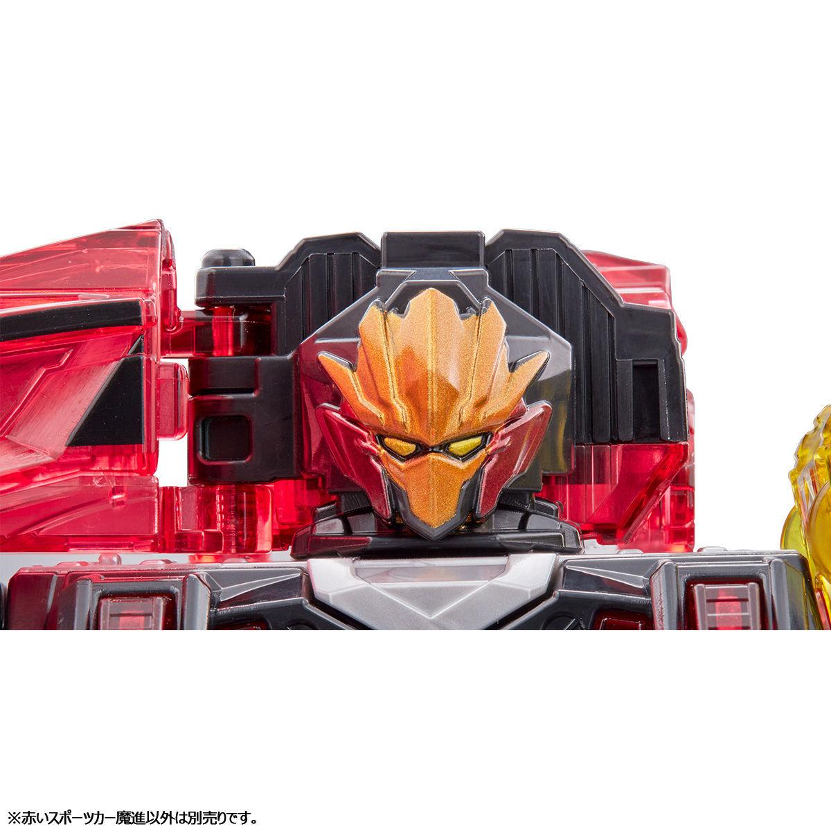 【限定販売】キラメイジャー ロボシリーズ01『魔進合体 赤いスポーツカー魔進』可変可動フィギュア-005