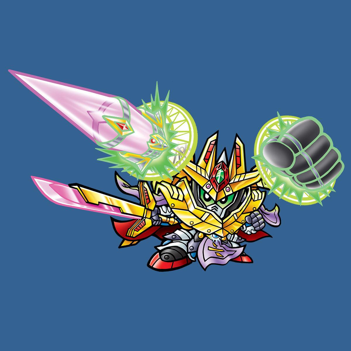 【限定販売】新約SDガンダム外伝『創世超竜譚 奇跡の二大超越竜皇』カードダス-008
