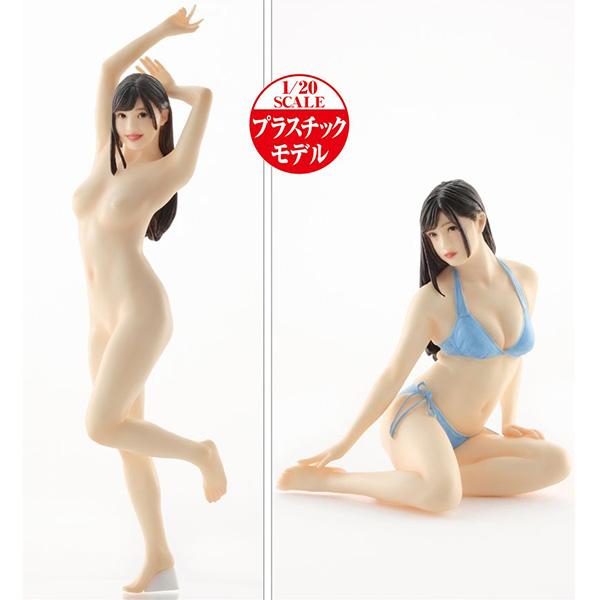 PLAMAX Naked Angel『高橋しょう子』1/20 プラモデル