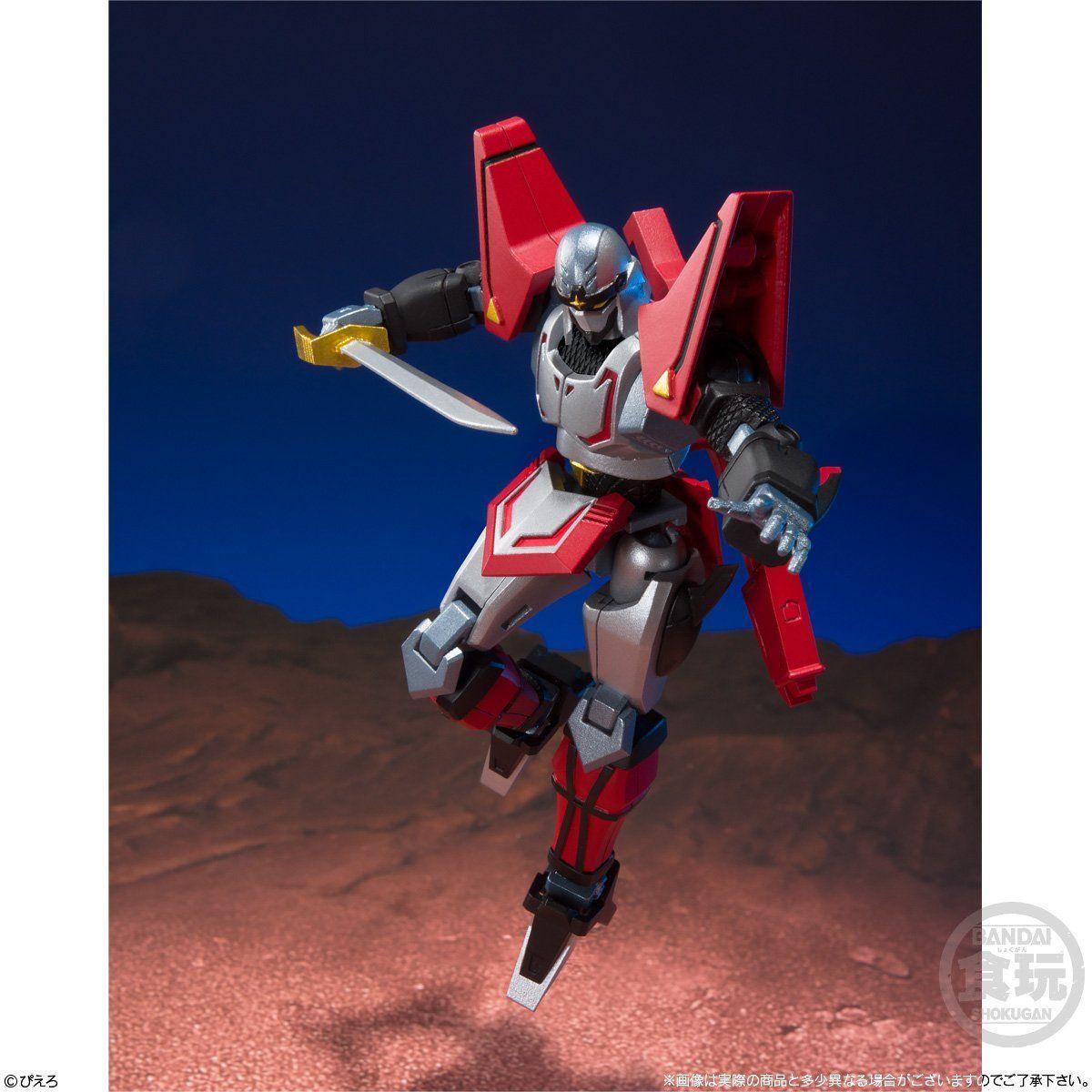 【食玩】スーパーミニプラ『忍者戦士 飛影Vol.1(3個入)』プラモデル-002