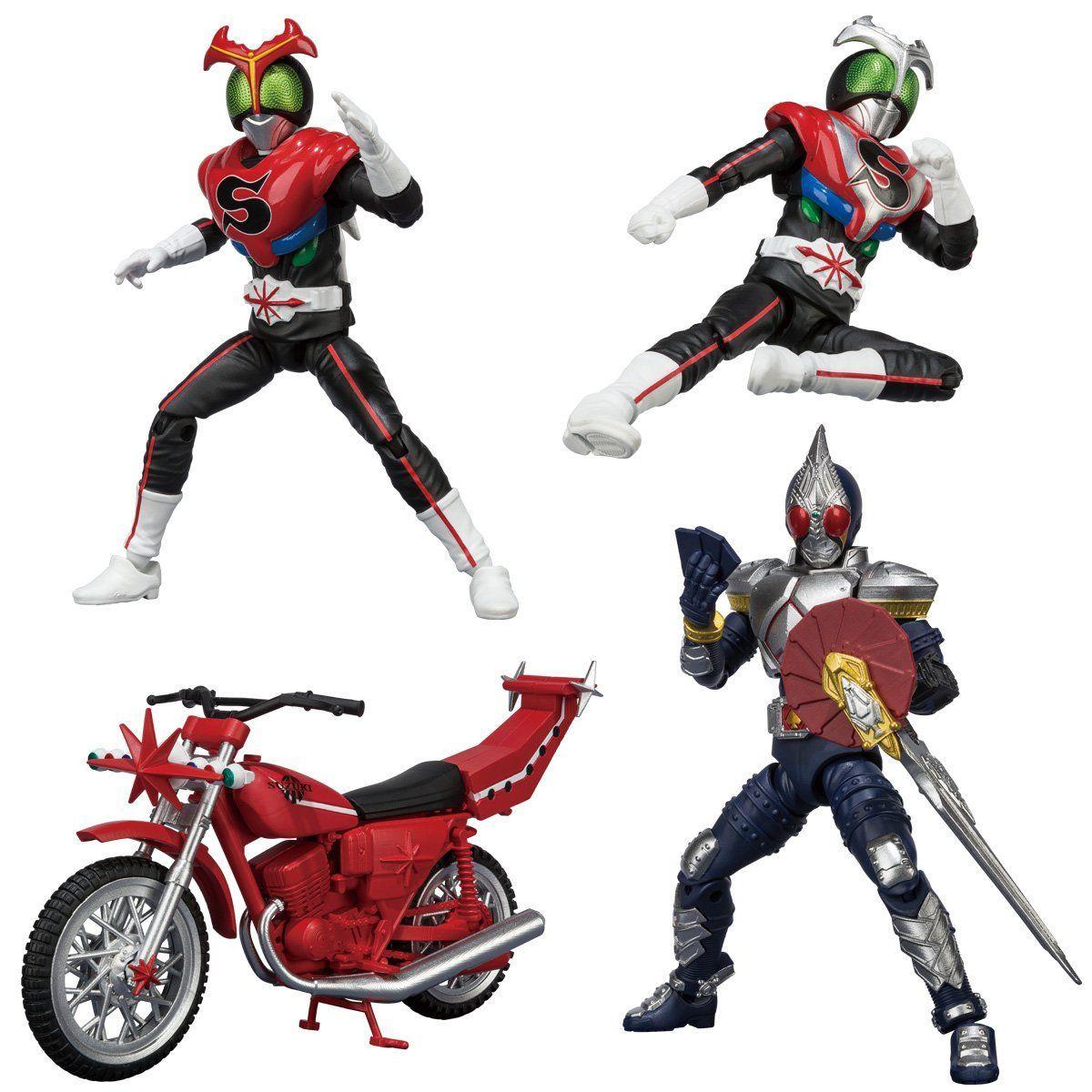 【食玩】SHODO-X『仮面ライダー8』可動フィギュア 10個入りBOX-001