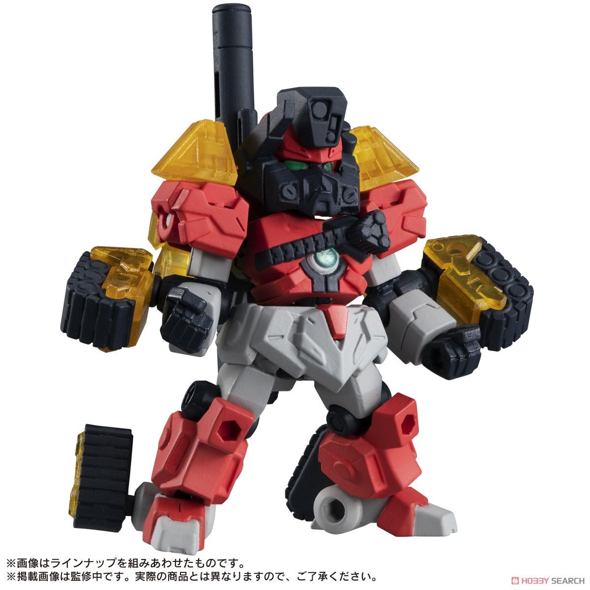 ガシャポン『ROBOT CONCERTO 02』10個入りBOX-007