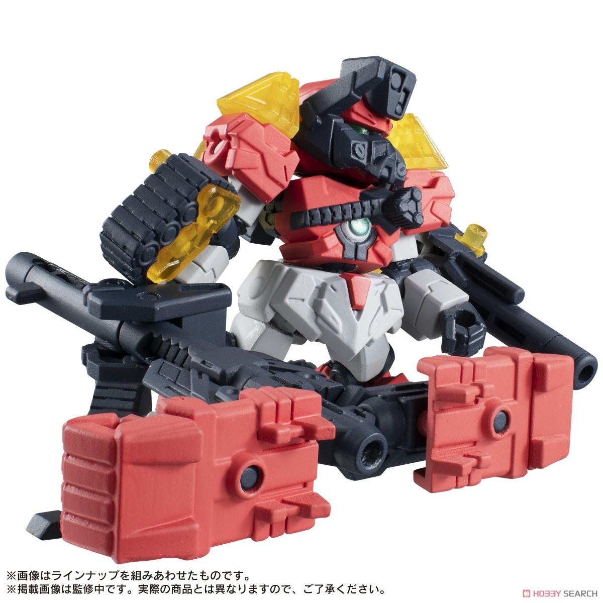 ガシャポン『ROBOT CONCERTO 02』10個入りBOX-008
