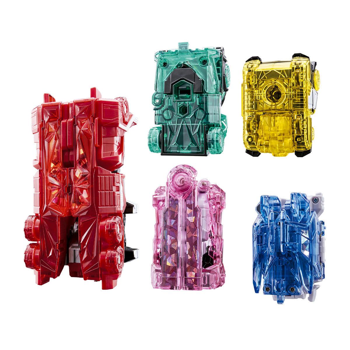 キラメイジャー ロボシリーズ01『魔進合体 DXキラメイジンセット』可変可動フィギュア-011