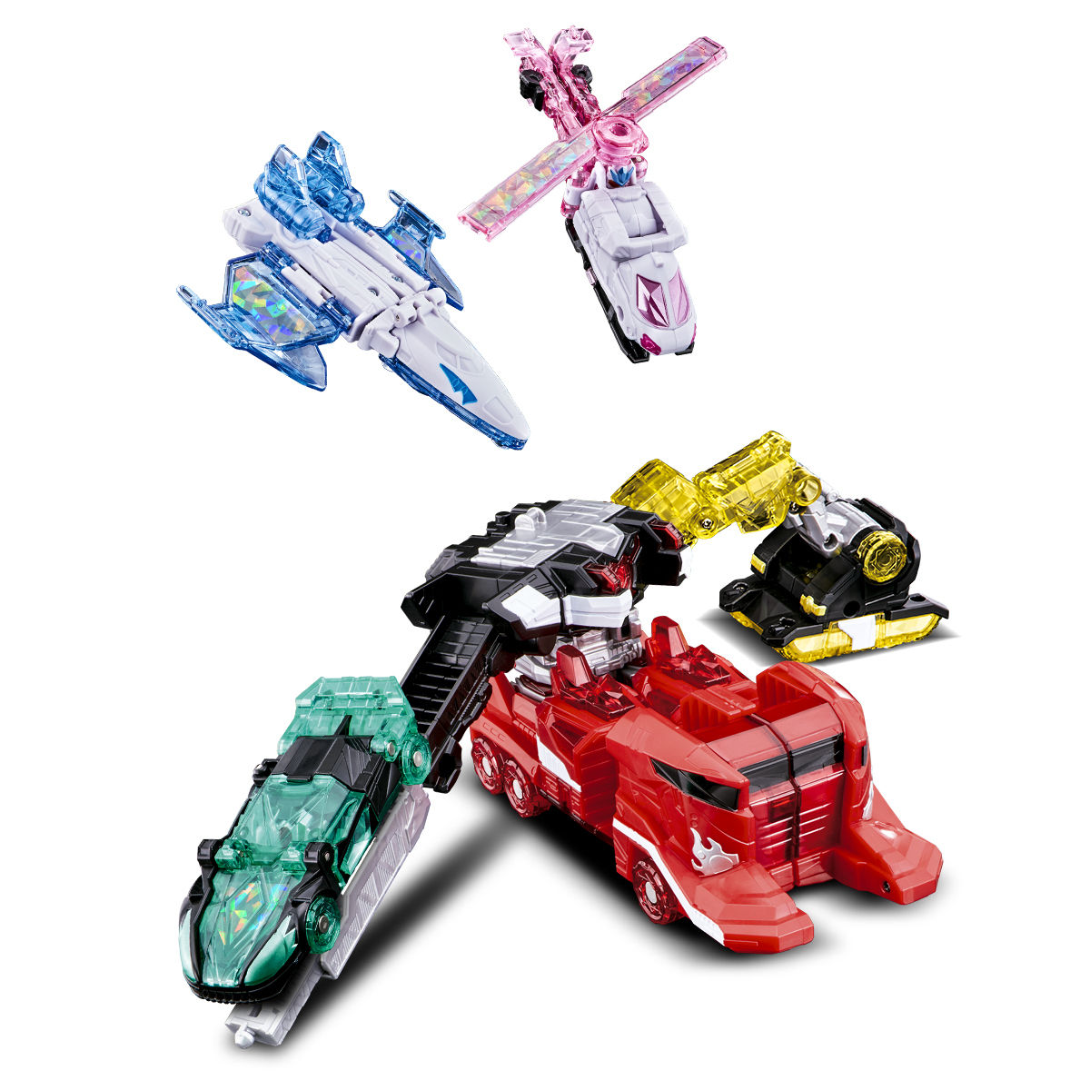 キラメイジャー ロボシリーズ01『魔進合体 DXキラメイジンセット』可変可動フィギュア-012