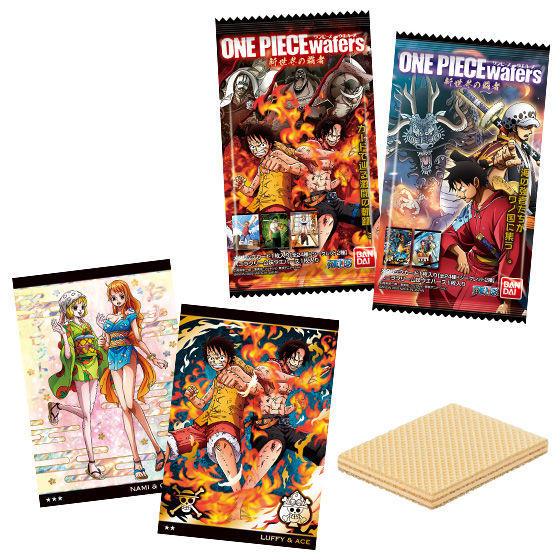 【食玩】ONE PIECE『ワンピースウエハース 新世界の覇者』20個入りBOX-001