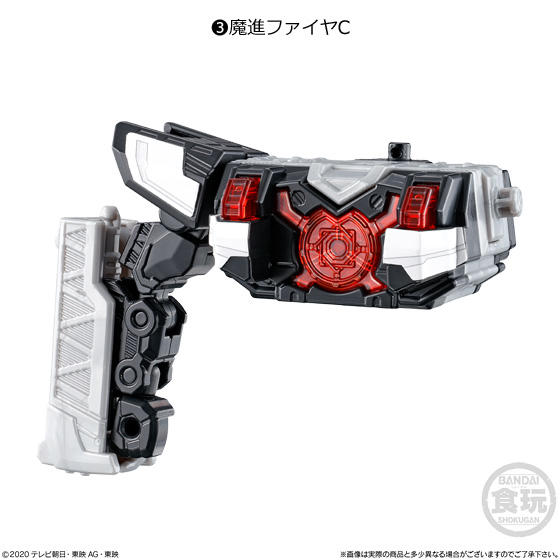 【食玩】ミニプラ『魔進合体シリーズ01 キラメイジンセット』キラメイジャー プラモデル-004