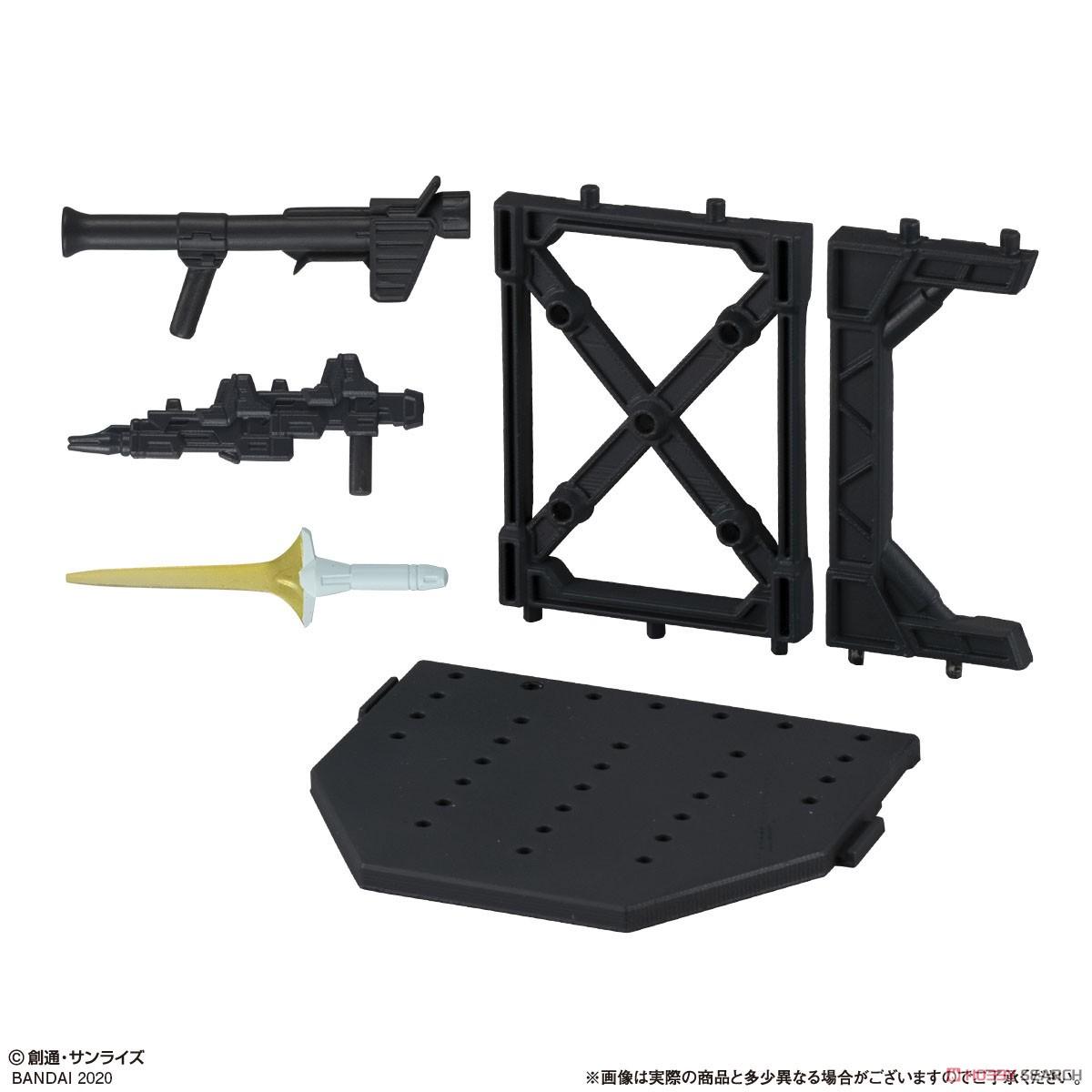 機動戦士ガンダム『ガシャポン戦士フォルテ11』12個入りBOX-006