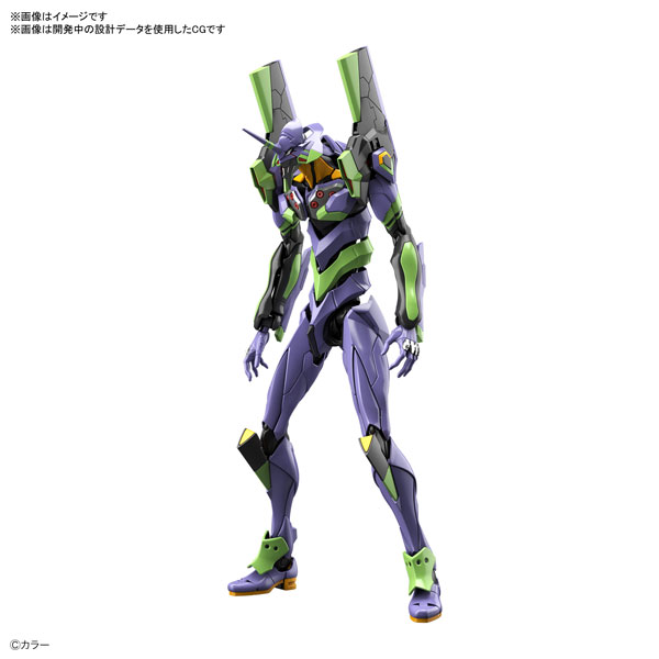 RG『汎用ヒト型決戦兵器 人造人間エヴァンゲリオン初号機』プラモデル