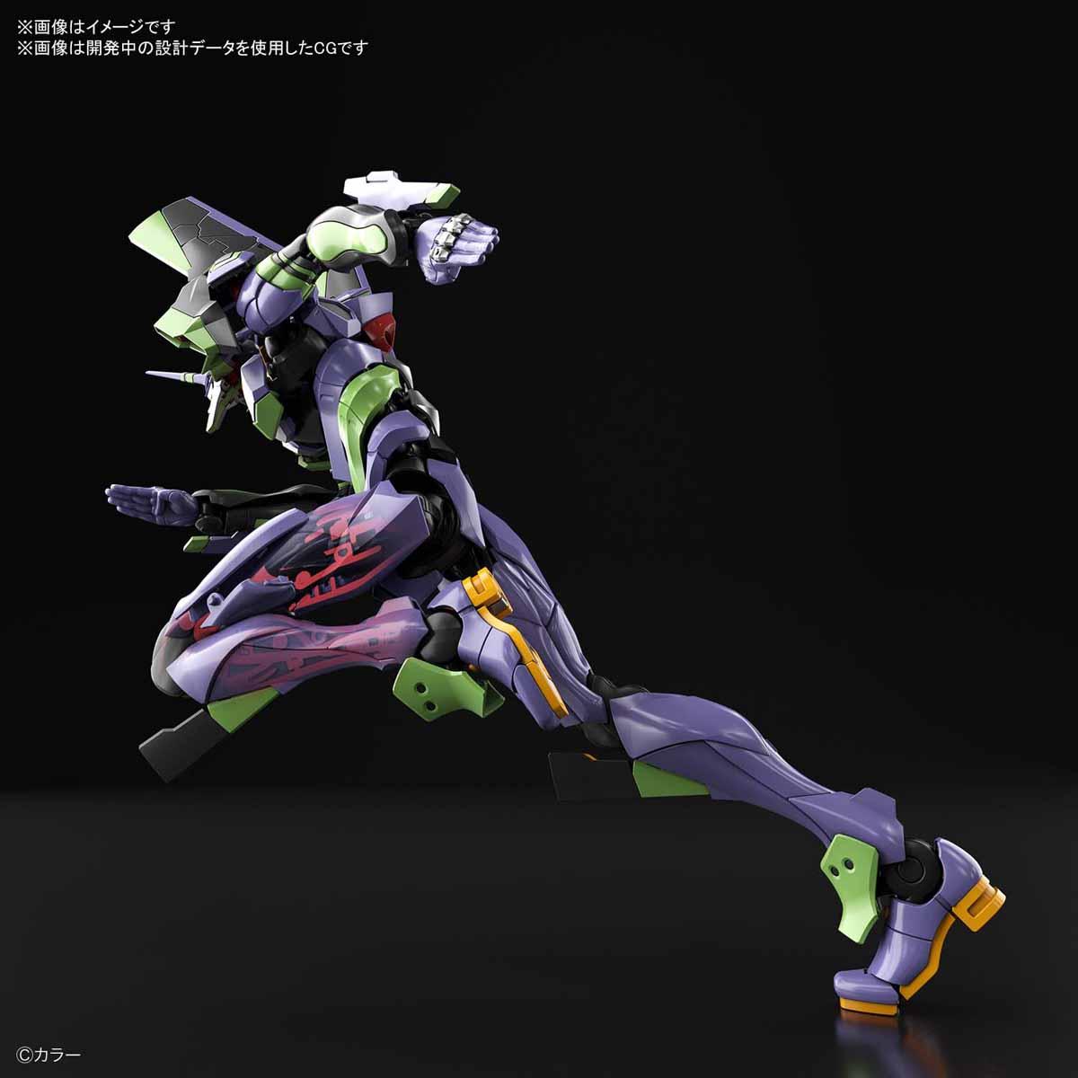 RG『汎用ヒト型決戦兵器 人造人間エヴァンゲリオン初号機』プラモデル-006