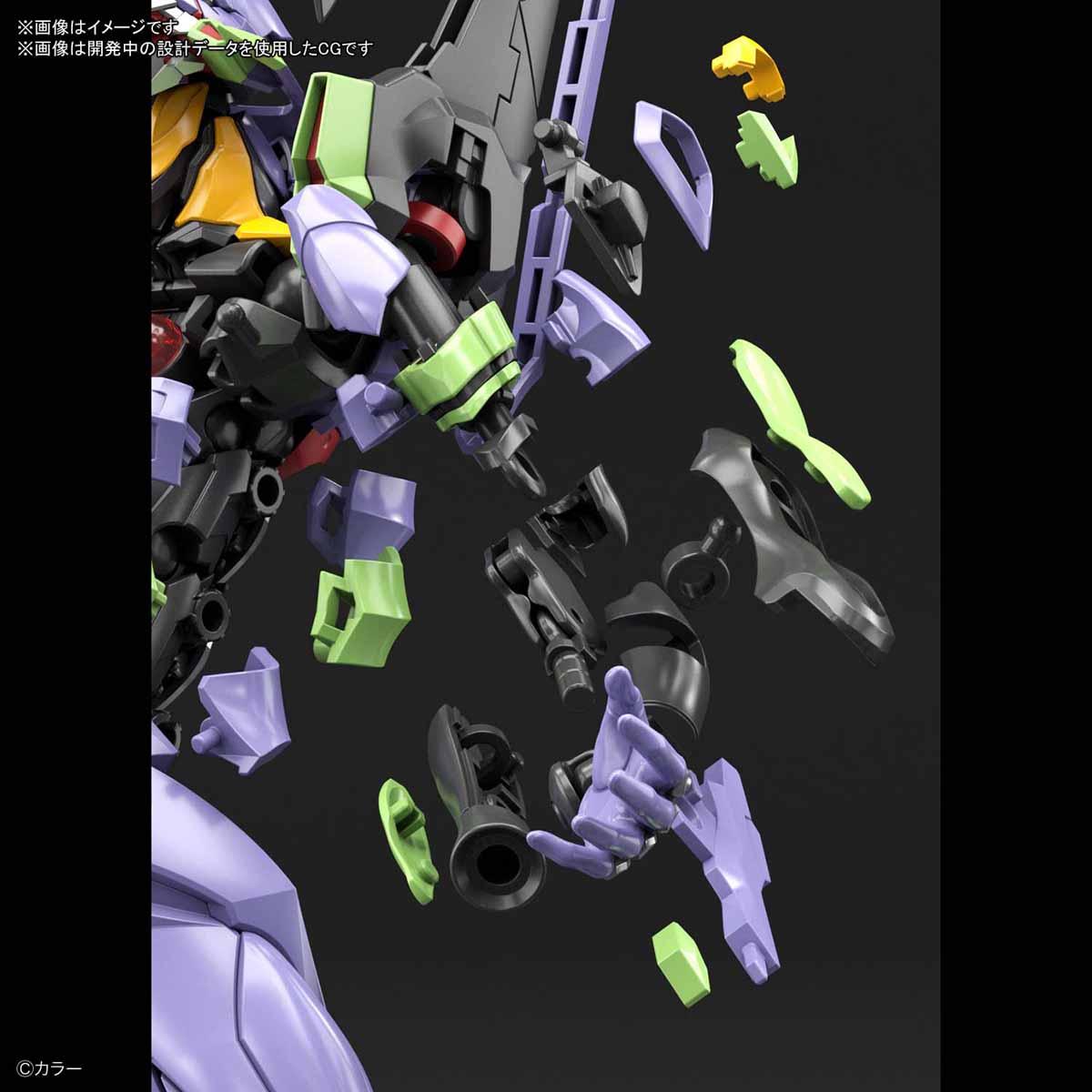 RG『汎用ヒト型決戦兵器 人造人間エヴァンゲリオン初号機』プラモデル-009