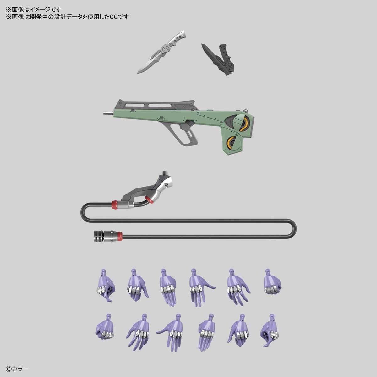 RG『汎用ヒト型決戦兵器 人造人間エヴァンゲリオン初号機』プラモデル-010