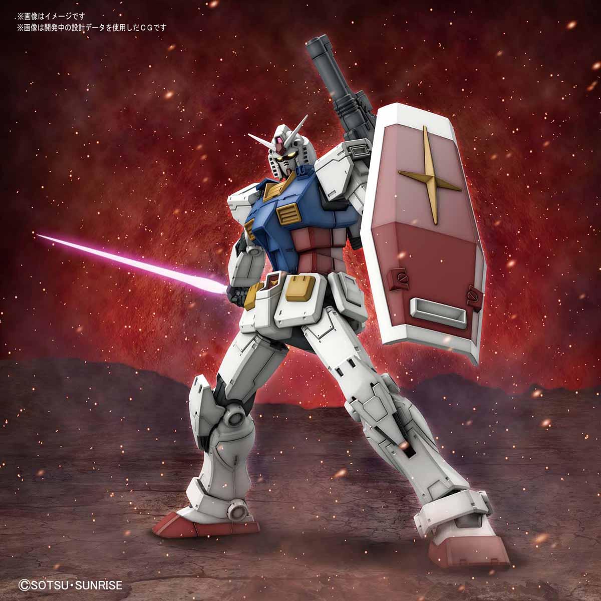 HG 1/144『RX-78-02 ガンダム(GUNDAM THE ORIGIN版)』プラモデル-001