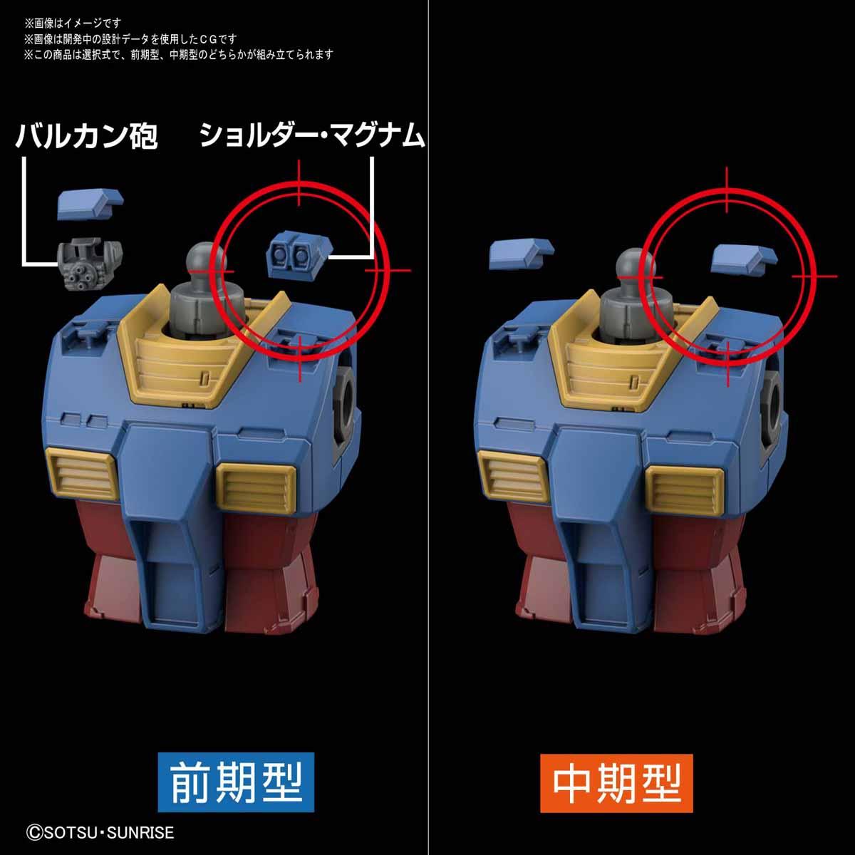 HG 1/144『RX-78-02 ガンダム(GUNDAM THE ORIGIN版)』プラモデル-005