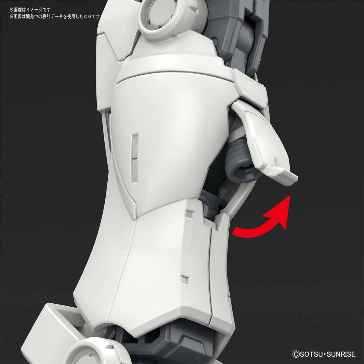HG 1/144『RX-78-02 ガンダム(GUNDAM THE ORIGIN版)』プラモデル-009