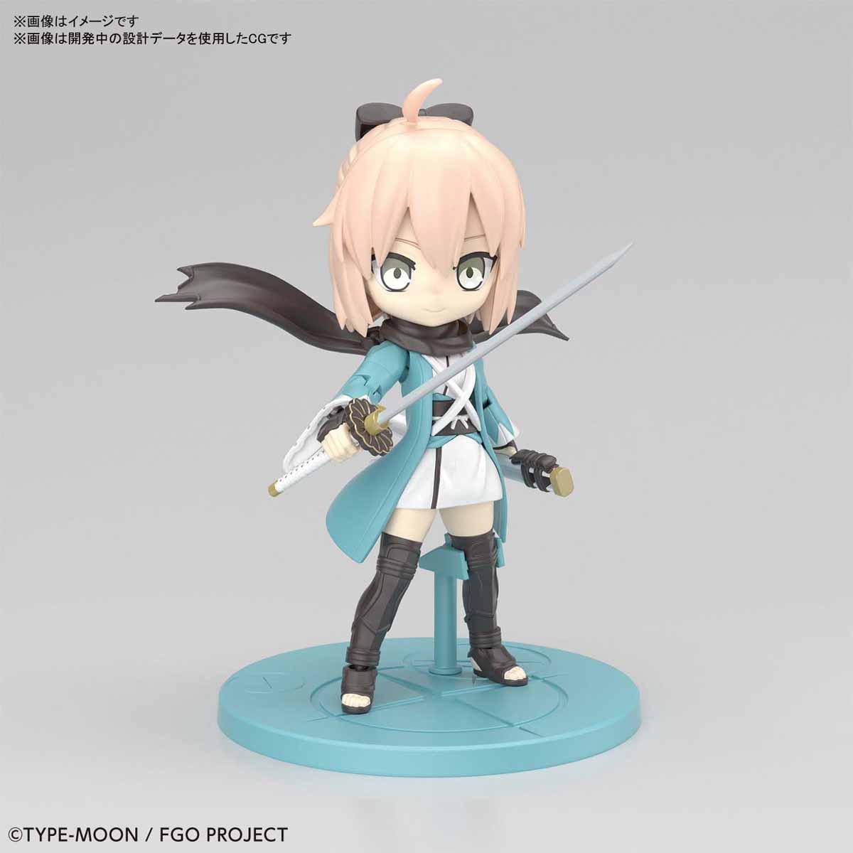 ぷちりっつ『セイバー/沖田総司』Fate/Grand Order プラモデル-001