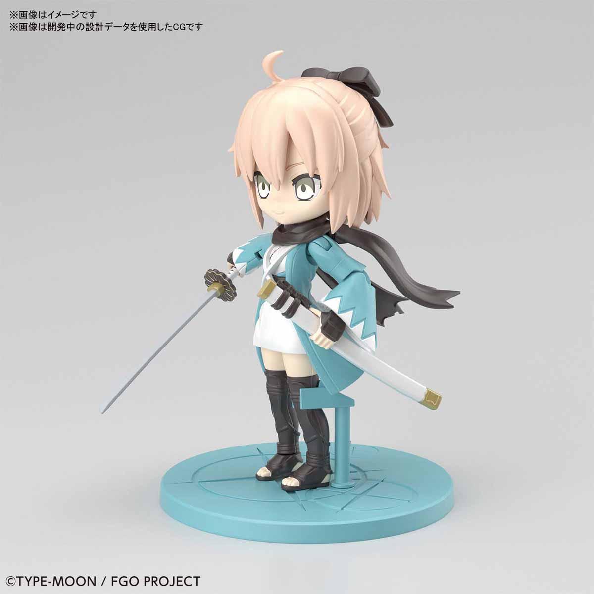 ぷちりっつ『セイバー/沖田総司』Fate/Grand Order プラモデル-003