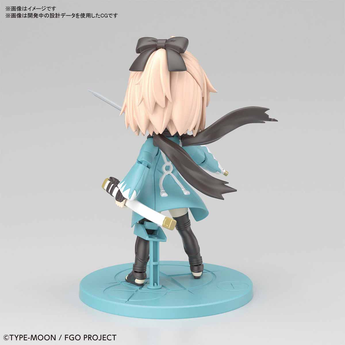 ぷちりっつ『セイバー/沖田総司』Fate/Grand Order プラモデル-004