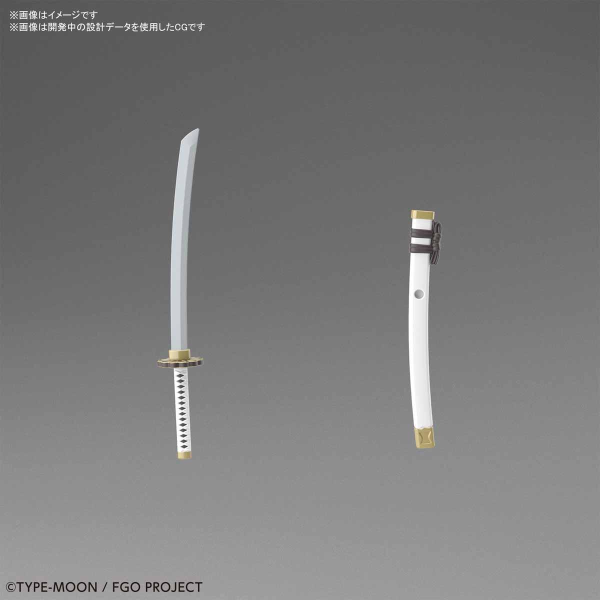 ぷちりっつ『セイバー/沖田総司』Fate/Grand Order プラモデル-005