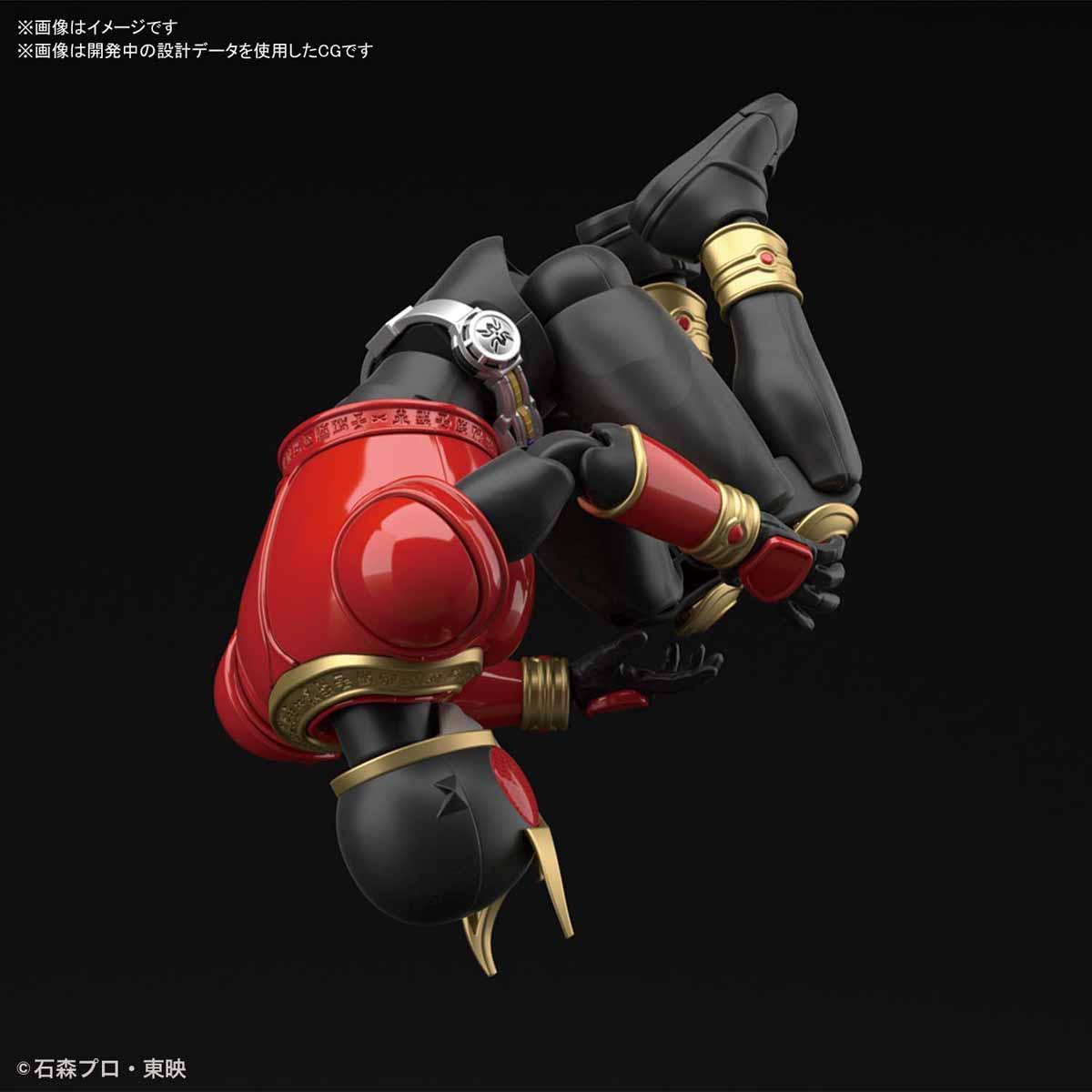 Figure-rise Standard『仮面ライダークウガ マイティフォーム』プラモデル-004