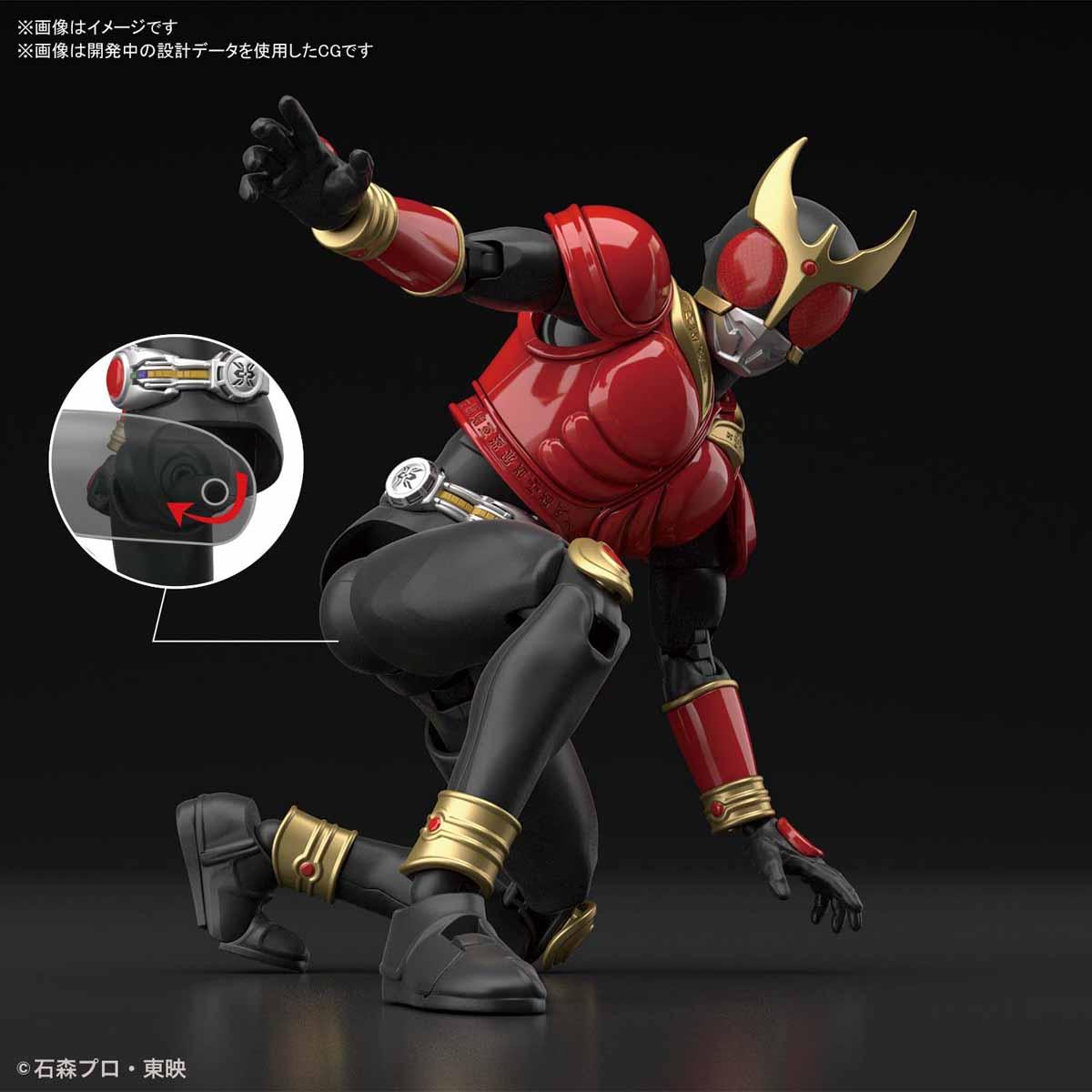 Figure-rise Standard『仮面ライダークウガ マイティフォーム』プラモデル-006