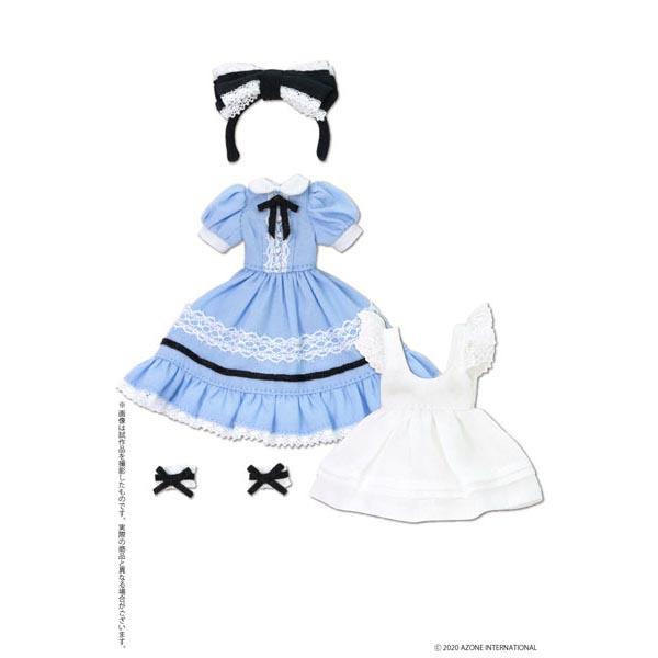 ピコニーモサイズ コスチューム『夢見る少女のアリスドレスセット【アリスブルー】』1/12 ドール服