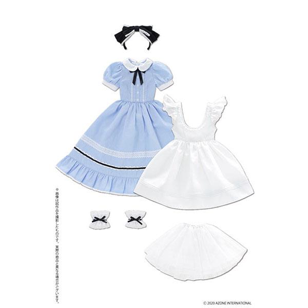 50cmコレクション『夢見る少女のアリス ドレスセット(アリスブルー)』1/3 ドール服
