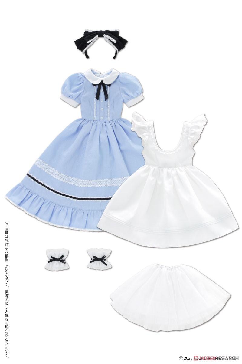 50cmコレクション『夢見る少女のアリス ドレスセット(アリスブルー)』1/3 ドール服-001