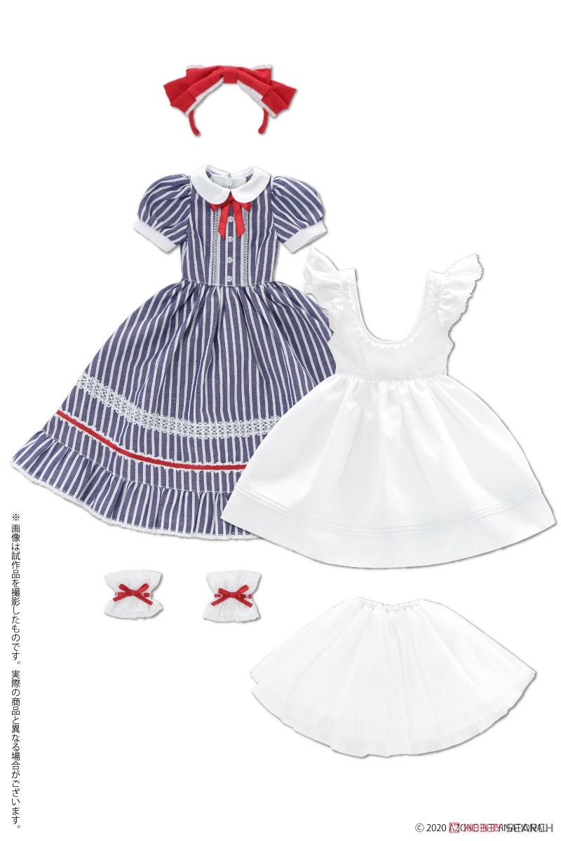 50cmコレクション『夢見る少女のアリス ドレスセット(アリスブルー)』1/3 ドール服-004