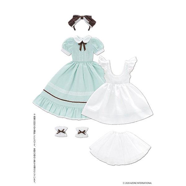 50cmコレクション『夢見る少女のアリス ドレスセット(ミントグリーン)』1/3 ドール服
