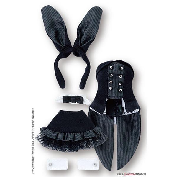 ピコニーモサイズ コスチューム『ハッピィ☆バニードレスセット(ブラック)』1/12 ドール服