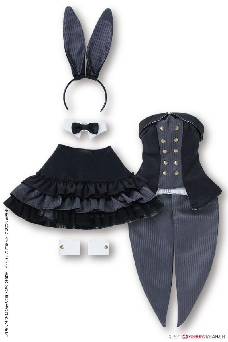 50cmコレクション『ハッピィ☆バニードレスセット(ブラック)』1/3 ドール服-003