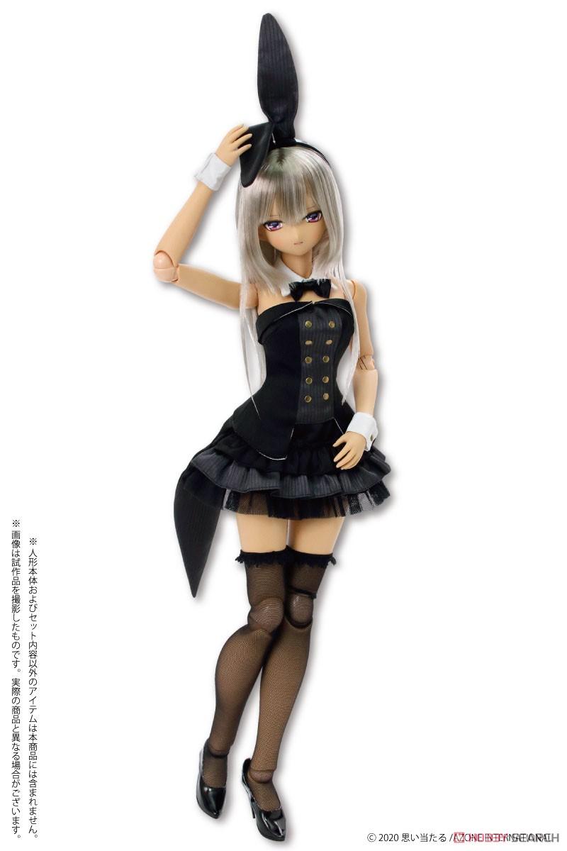 50cmコレクション『ハッピィ☆バニードレスセット(ホワイト×ピンク)』1/3 ドール服-004