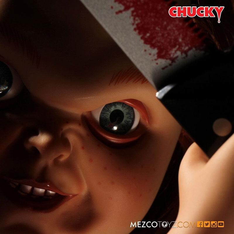 【再販】チャイルドプレイ『グッドガイ チャッキー』15インチ トーキング フィギュア-007