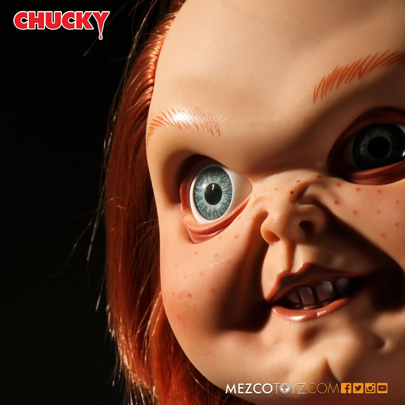 【再販】チャイルドプレイ『グッドガイ チャッキー』15インチ トーキング フィギュア-008